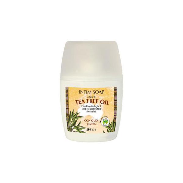 Sapun intim cu ulei de arbore de ceai La Dispensa 250 ml [0]