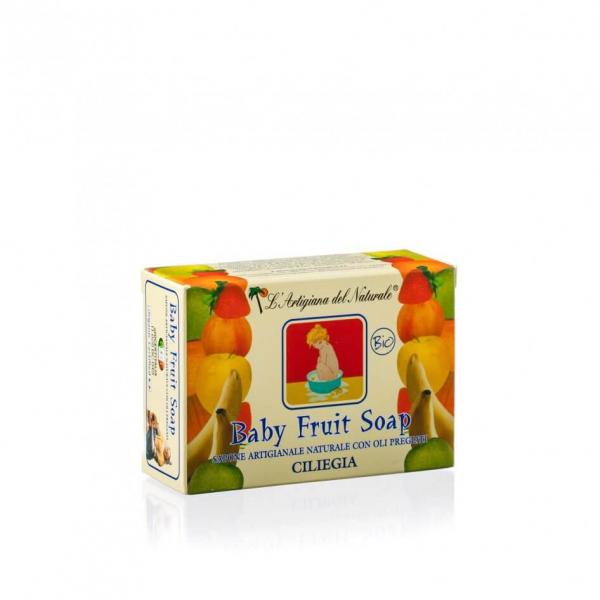 Sapun natural Cherry pentru copii 100 g Laboratorio Naturale 0