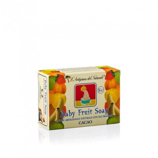 Sapun natural Cocoa pentru copii 100 g Laboratorio Naturale [0]
