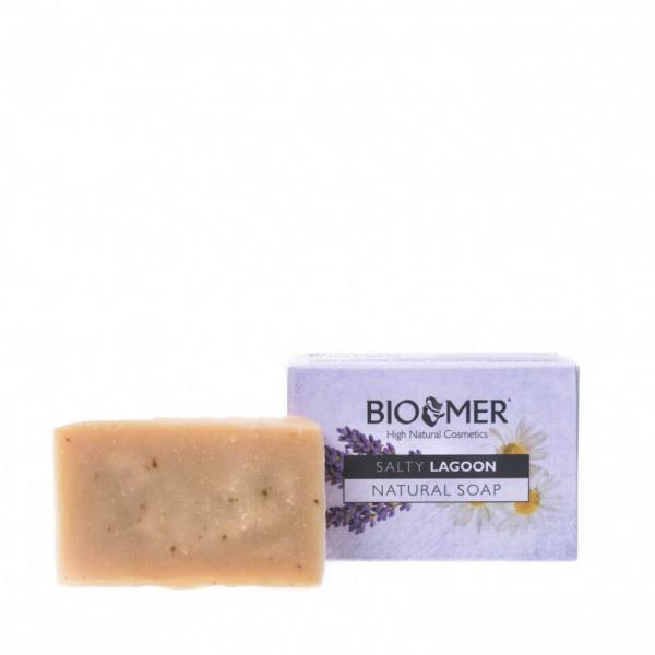 Sapun natural hidratant pentru ten sensibil cu Aloe Vera BIO Bio Mer 90g 0