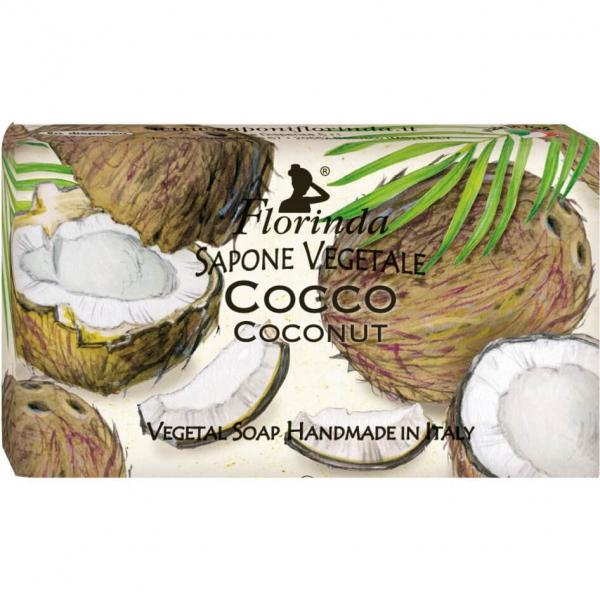 Sapun vegetal cu cocos Florinda 100 g La Dispensa 0