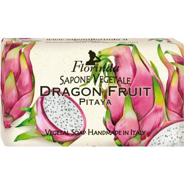 Sapun vegetal cu fructul dragonului Florinda 100 g La Dispensa 0