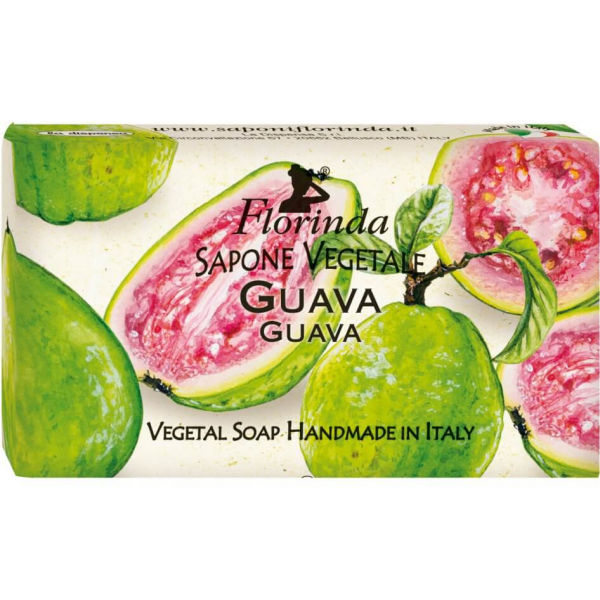 Sapun vegetal cu guava Florinda 100 g La Dispensa 0