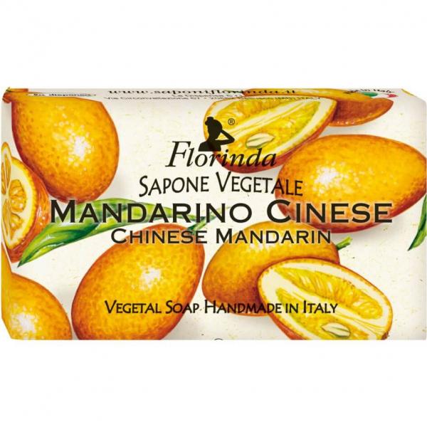 Sapun vegetal cu mandarine chinezesti Florinda 100 g La Dispensa 0