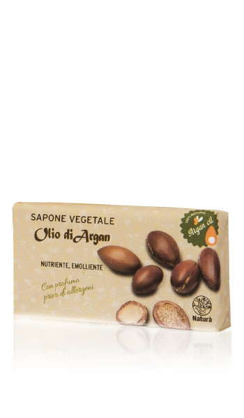 Sapun vegetal cu ulei de argan 100 g La Dispensa 0