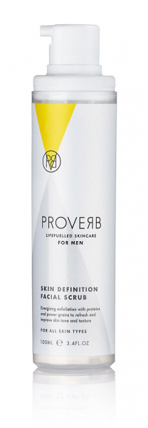 Scrub de curatare faciala pentru barbati 100ml Proverb 1