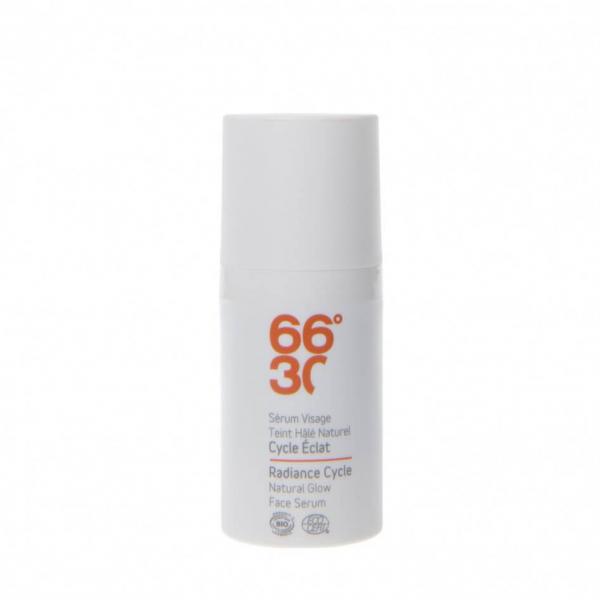Serum facial cu efect radiant, pentru barbati BIO 66°30 30 ml 0