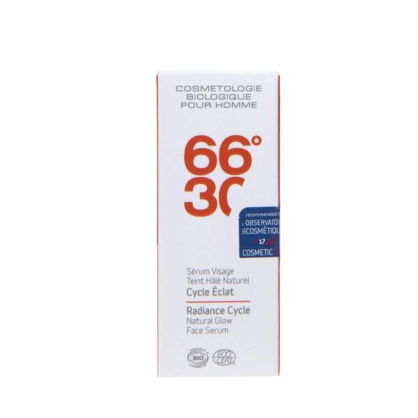 Serum facial cu efect radiant, pentru barbati BIO 66°30 30 ml 2