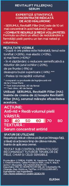 Serum antirid L`Oreal Paris Revitalift Filler 5