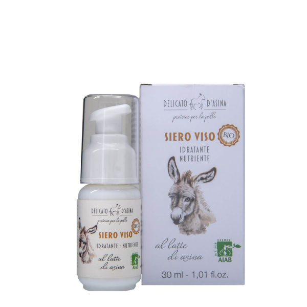 Serum facial hidratant si regenerant cu lapte de magarita BIO La Dispensa 30 ml 1