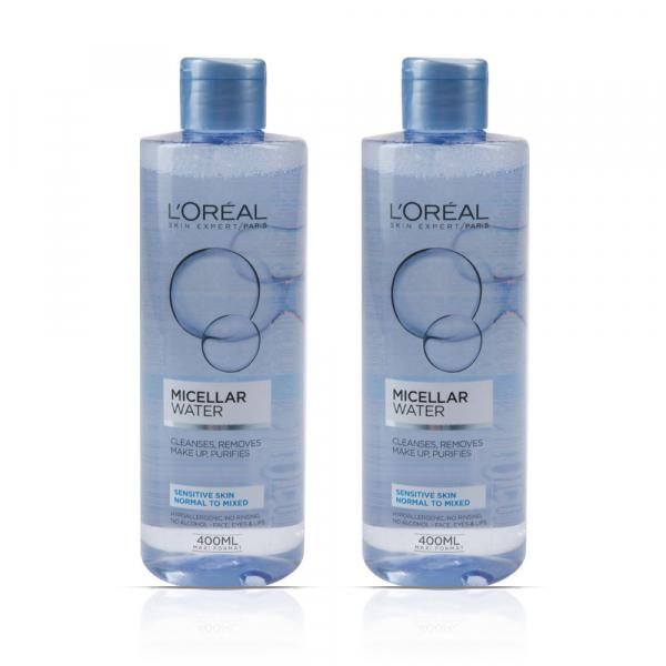 Set Black Friday 2x Apa Micelara Skin Expert pentru piele sensibila, ten normal-mixt - 400 ml [0]