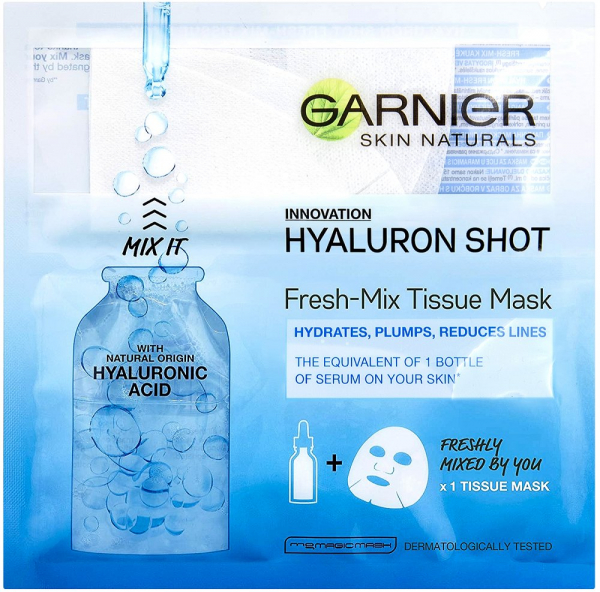 Set 5x Masti servetel Fresh-Mix cu acid hialuronic pentru hidratare, 5x33g [1]