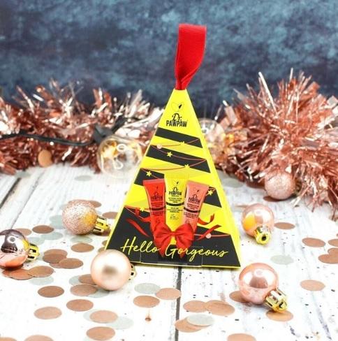 Set cadou Mini Christmas Tree (Original Peach & Red) 30 ml Dr PawPaw 3