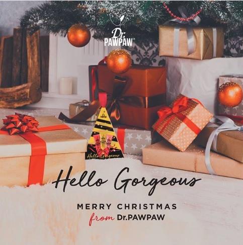 Set cadou Mini Christmas Tree (Original Peach & Red) 30 ml Dr PawPaw 4
