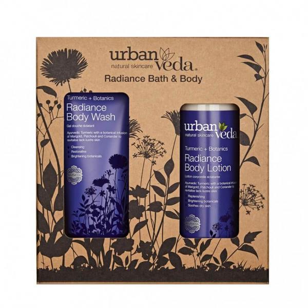 Set cadou Radiance Bath & Body Urban Veda 1