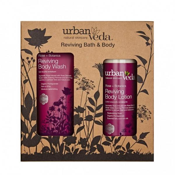 Set cadou Reviving Bath & Body Urban Veda 0