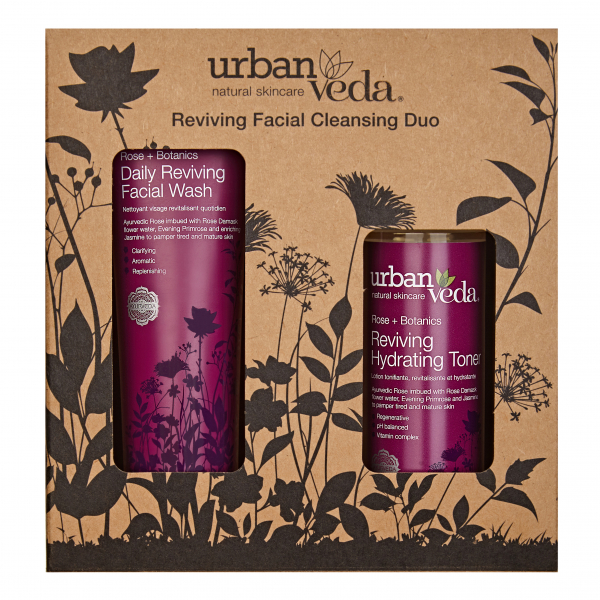 Set cadou Reviving Facial Cleansing Duo Urban Veda 1