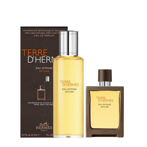 Set CADOU Terre D`Hermes Eau Intense Vetiver, barbati, parfum, 30 ml + 125 ml Refill [0]