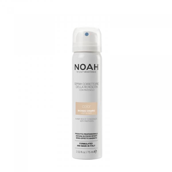 Spray corector cu vitamina B5 pentru acoperirea radacinii parului BLOND DESCHIS Noah 75 ml 0