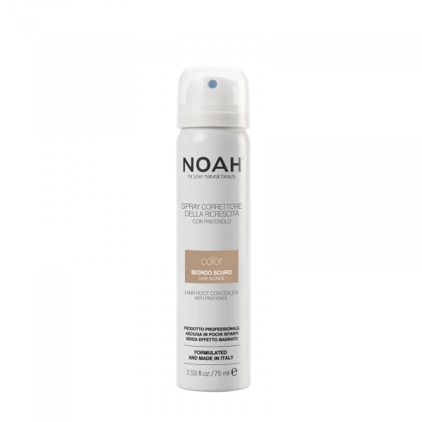 Spray corector cu vitamina B5 pentru acoperirea radacinii parului   BLOND INCHIS Noah 75 ml 0