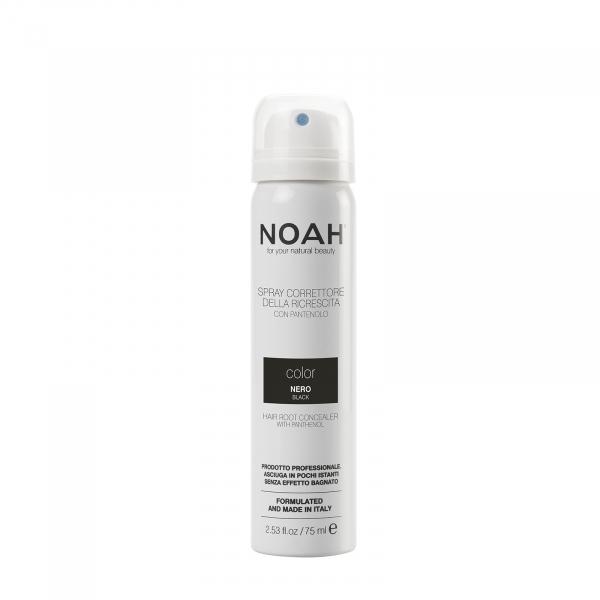 Spray corector cu vitamina B5 pentru acoperirea radacinii parului   NEGRU Noah 75 ml 0
