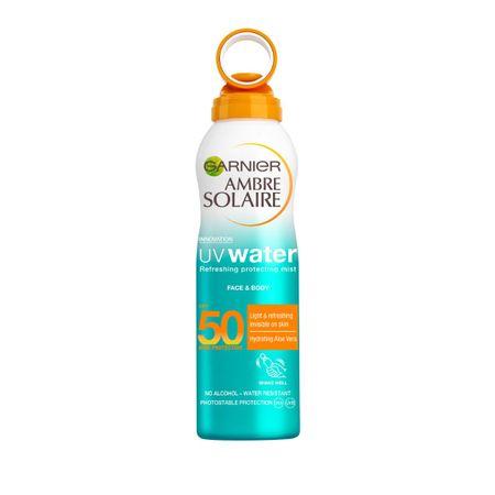 Spray racoritor pentru fata si corp cu protectie solara SPF50 Ambre Solaire - 200ml 0
