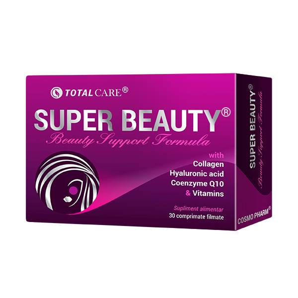 Super Beauty – Beauty Support Formula, Cosmo Pharm, 30 comprimate filmate 0