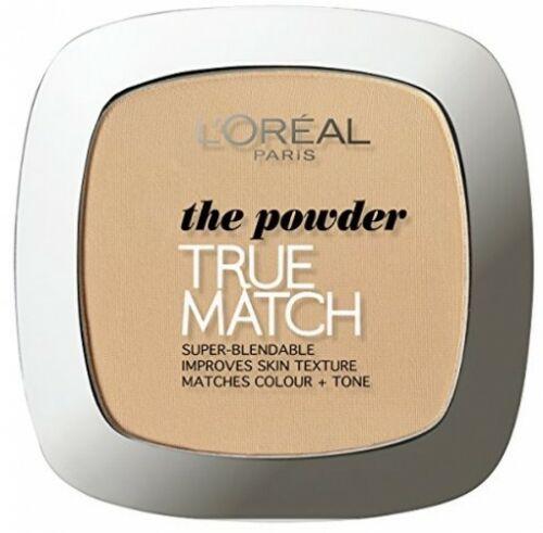 True Match Compact Powder, Femei, Pudra compacta, 3D/W3 Golden Beige, 9 g [0]
