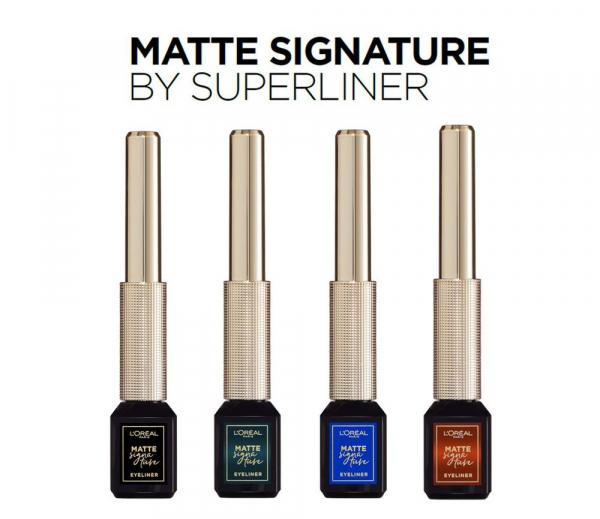 Tus de ochi lichid waterproof L'Oreal Paris Matte Signature by SuperLiner 3