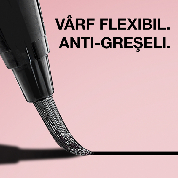 Tus lichid pentru ochi Maybelline Hyper Easy, cu aplicator pensula 0.6g 6