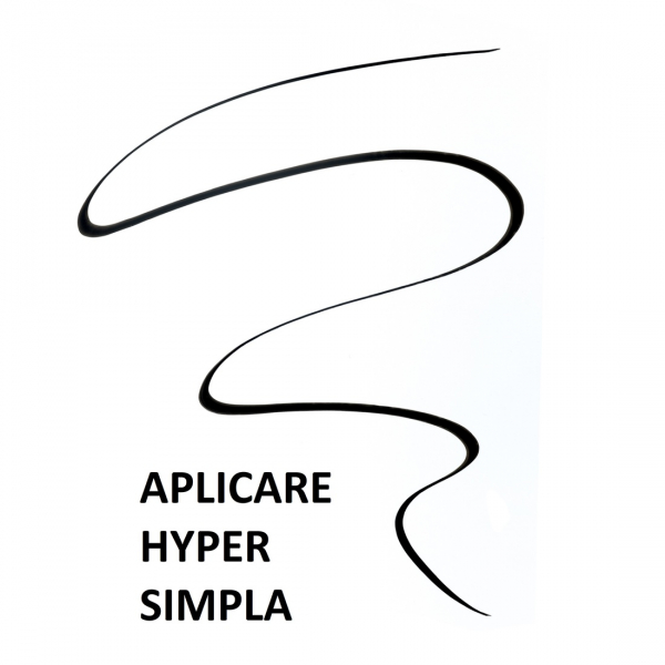 Tus lichid pentru ochi Maybelline Hyper Easy, cu aplicator pensula 0.6g 4