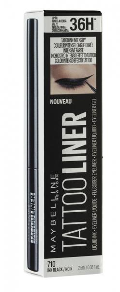 Tus lichid rezistent pentru ochi Maybelline Tattoo Liner Liquid Ink, black 0