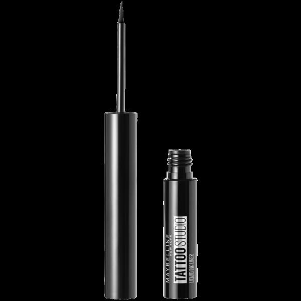 Tus lichid rezistent pentru ochi Maybelline Tattoo Liner Liquid Ink, black 1