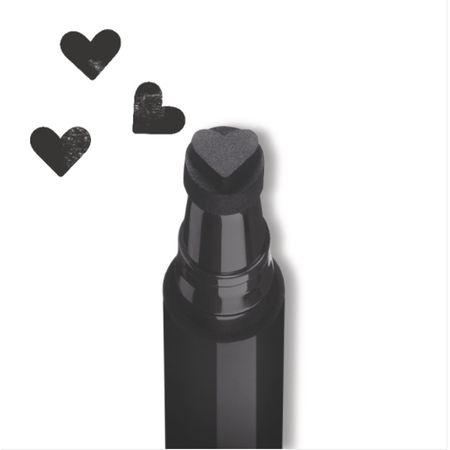 Tus tip stampila Rimmel INK ME, 001 BLACK/HEART, 0.8 ml 3