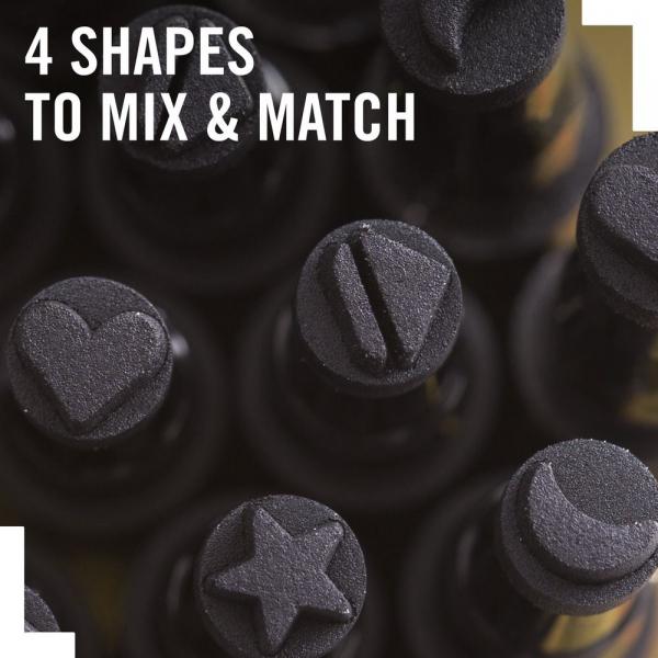 Tus tip stampila Rimmel INK ME, 004 BLACK/MOON, 0.8 ml 5