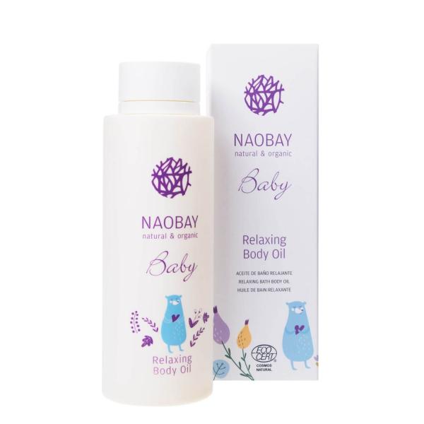 Ulei de corp BIO relaxant pentru copii Naobay 200 ml 1