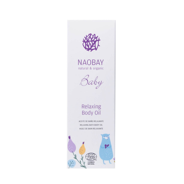 Ulei de corp BIO relaxant pentru copii Naobay 200 ml 2