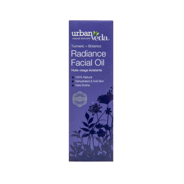 Ulei facial pentru ten uscat Radiance   Urban Veda 30 ml 2