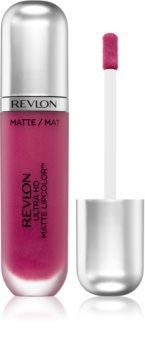 Ruj lichid mat REVLON Ultra HD Matte Lipcolor™, No.610 Addiction, 5.9 ml [1]