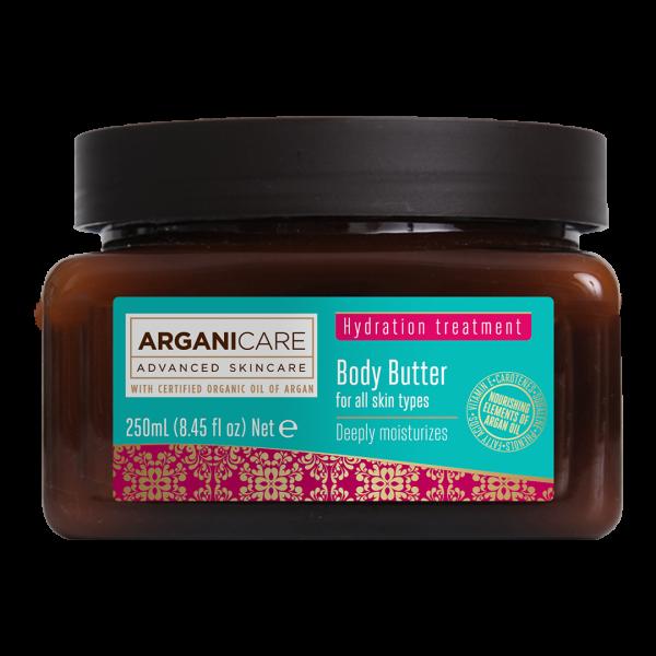 Unt de corp cu ulei de argan Arganicare 250 ml [0]