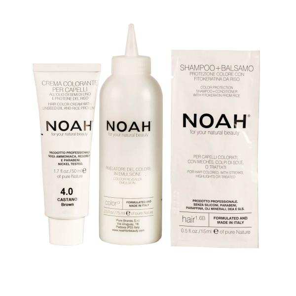 Vopsea de par naturalaSaten 4.0 Noah 140 ml 1