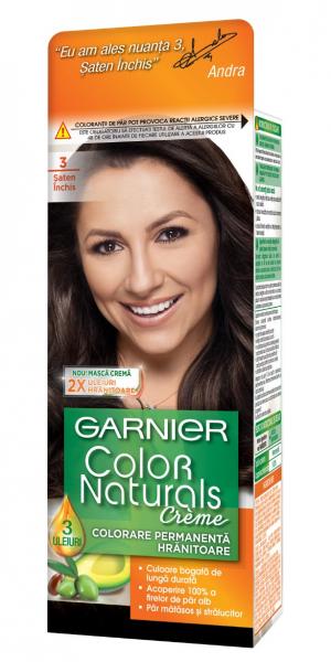 Vopsea de par permanenta Garnier Color Naturals 1