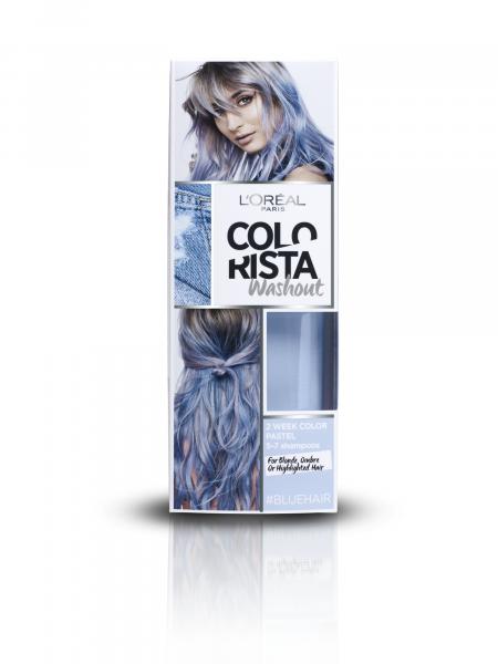 Vopsea temporara pentru par Colorista Washout - 80 ml 9
