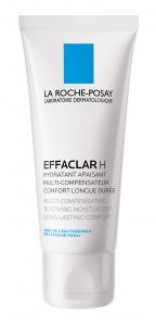 Cremă de hidratare pentru pielea cu tendință acneică LA ROCHE-POSAY Effaclar H, 40ml [0]