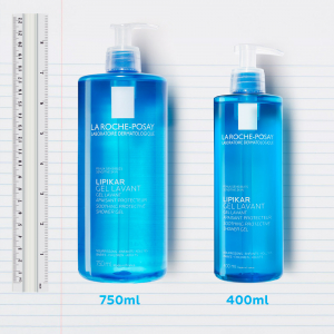 Gel de spălare pentru piele sensibilă, bebeluși, copii, adulți, La Roche-Posay Lipikar 750ml [4]