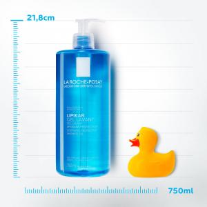 Gel de spălare pentru piele sensibilă, bebeluși, copii, adulți, La Roche-Posay Lipikar 750ml [1]
