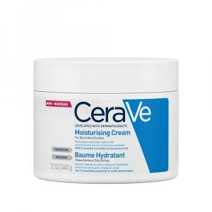Cremă hidratantă pentru față și corp, piele uscată și foarte uscată CeraVe , 340 gr [0]