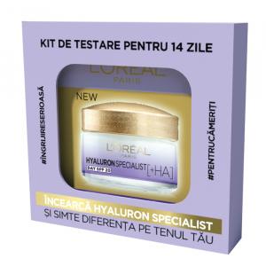 Kit de testare pentru 14 zile Hyaluron Specialist: crema de zi antirid hidratanta pentru volumul tenului, 14 x 3ml [0]