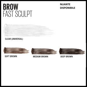 Mascara gel pentru sprancene Brow Fast Sculpt 04, Medium Brown - 2.8ml5