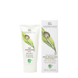 After shave gel cu extract de melc BIO Helidermina La Dispensa 100 ml1